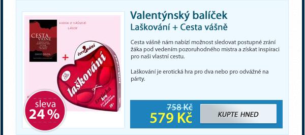 Valentýnský balíček Laškování + Cesta vášně