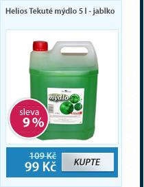 Helios Tekuté mýdlo 5 l - jablko