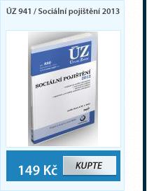 ÚZ 941 / Sociální pojištění 2013