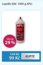 Lepidlo bílé  1000 g APLI