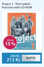 Project 1 - Třetí vydání - Pracovní sešit+CD-ROM