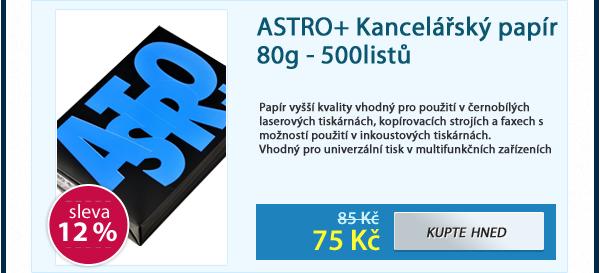ASTRO+ Kancelářský papír 80g - 500listů