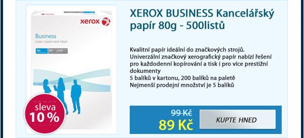 XEROX BUSINESS Kancelářský papír 80g - 500listů