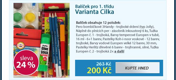 Balíček Cilka