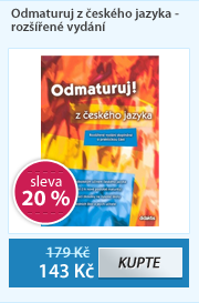 Odmaturuj z českého jazyka - rozšířené vydání
