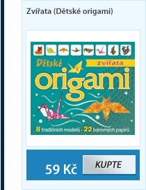 Zvířata (Dětské origami)