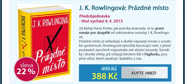 J. K. Rowlingová: Prázdné místo