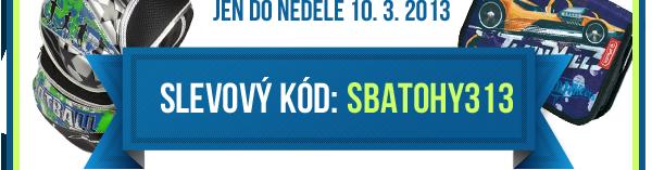 Slevový kód BATOHY 313