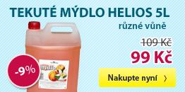 Tekuté mýdlo Helios 5l