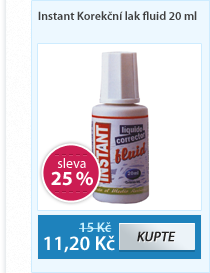 Instant Korekční lak fluid 20 ml