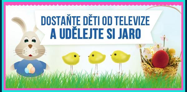Dostaňte děti od televize a udělejte si jaro