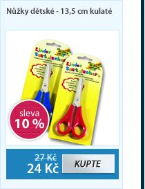 Nůžky dětské - 13,5 cm kulaté