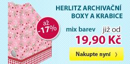 Herlitz Archivační boxy a krabice