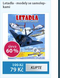 Letadla - modely se samolepkami