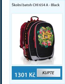 Školní batoh CHI 654 A - Black