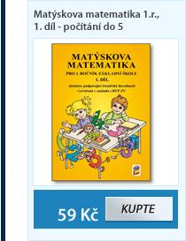 Matýskova matematika pro 1. ročník 1.díl - Počítání do pěti