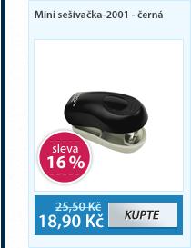 Mini sešívačka-2001 - černá