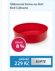 Silikonová forma na dort Red Culinaria