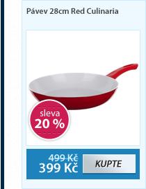 Pávev 28cm Red Culinaria