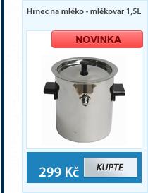 Hrnec na mléko - mlékovar 1,5L