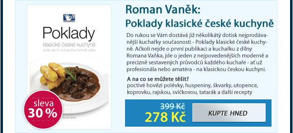 Roman Vaněk: Poklady klasické české kuchyně