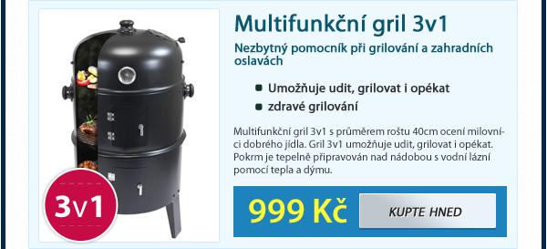 Multifunkční gril 3v1