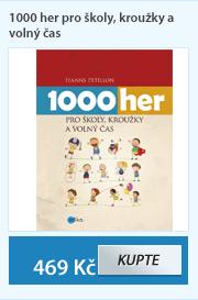 1000 her pro školy, kroužky a volný čas