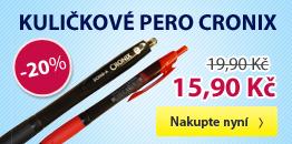Kuličkové pero Cronix