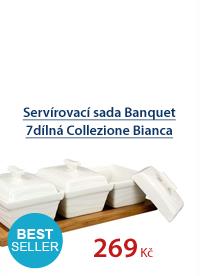 Servírovací sada Banquet 7dílná Collezione Bianca