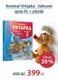 Komisař Vrťapka - Sebrané spisy III. + plyšák