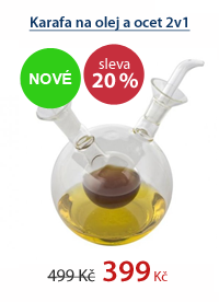 Karafa na olej a ocet 2v1