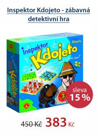Instektor Kdojeto - zábavná detektivní hra od 5 let