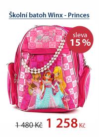 Školní batoh Winx - Princes