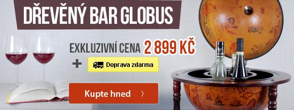 Dřevěný globus