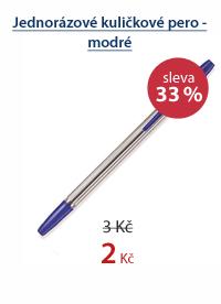 MAFIA Jednorázové kuličkové pero - modré