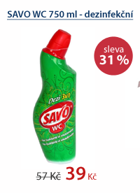 SAVO WC 750 ml - dezinfekční