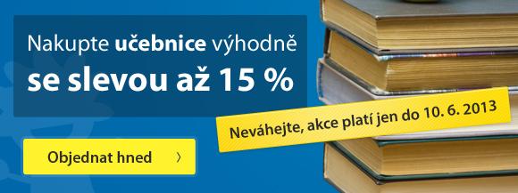 Učebnice se slevou 15 %