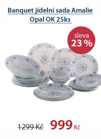 Banquet jídelní sada Amalie Opal OK 25ks
