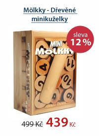 Mölkky - Dřevěné minikuželky