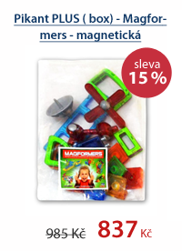 Pikant PLUS ( box) - Magformers - magnetická stavebnice 21 dílů