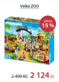 Velká ZOO - Playmobil