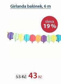 Girlanda balónek, 6 m