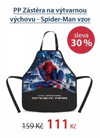 PP Zástěra na výtvarnou výchovu - Spider-Man vzor 2012