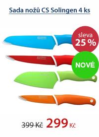 Sada nožů CS Solingen 4ks