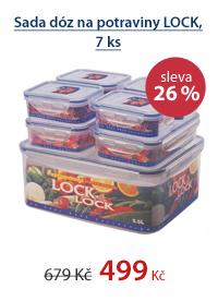 Sada na potraviny Lock&Lock 7dílů