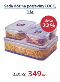 Sada na potraviny Lock&Lock 4díly