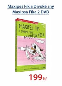 Maxipes Fík a Divoké sny Maxipsa Fíka 2 DVD