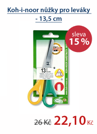 Koh-i-noor nůžky pro leváky - 13,5 cm