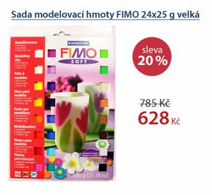 Sada modelovací hmoty FIMO 24x25 g velká