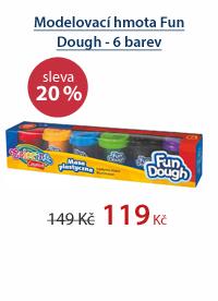 Modelovací hmota Fun Dough - 6 barev